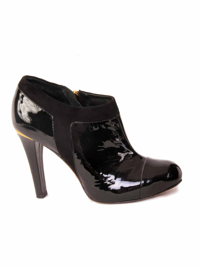 BCBG MaxAzria Patent Leather Booties