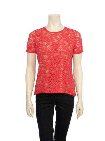 BCBG MaxAzria Cacey Lace Top