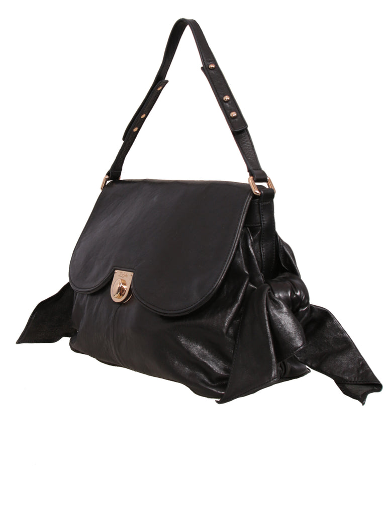 Zac Posen Leather Bow Bag