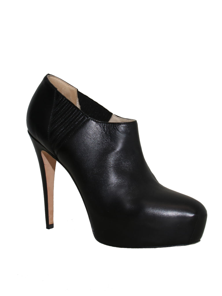 Brian Atwood Leather Booties