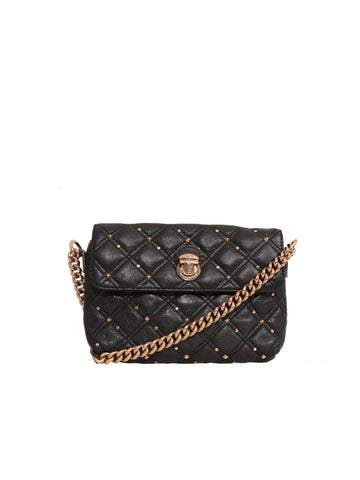 Marc Jacobs Quilted Studded Leather Cross Body Bag