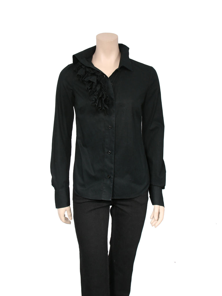 Vivienne Westwood Ruffle Button-Up Shirt