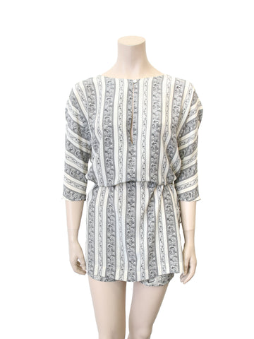 Elizabeth and James Printed Silk Tunic