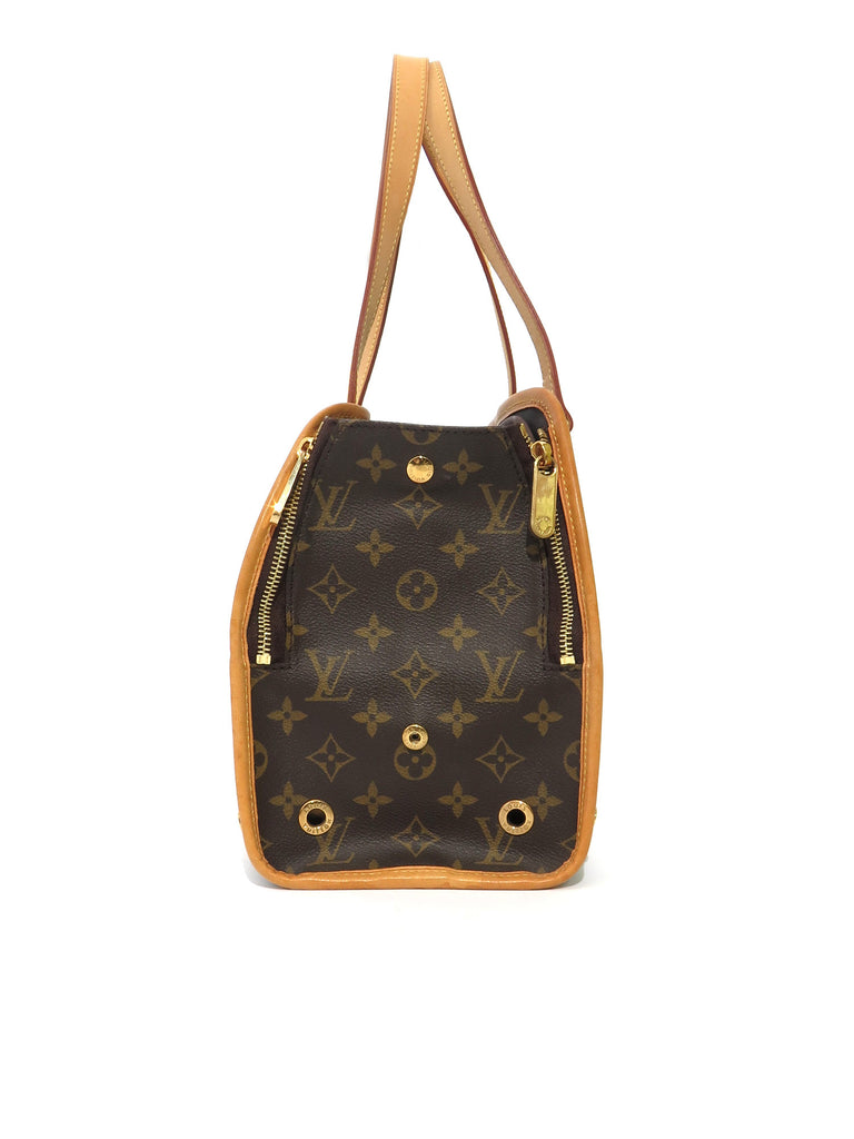 Louis Vuitton Monogram Baxter Dog Carrier