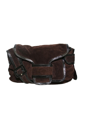 Pierre Hardy Suede Cross Body Bag
