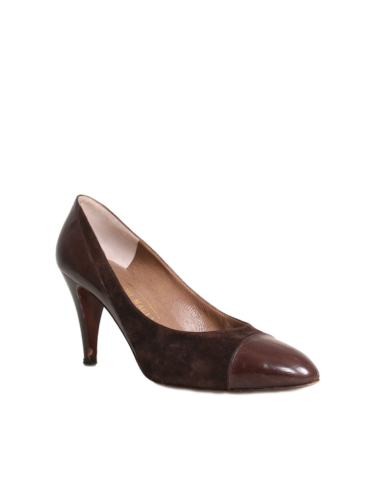 Bruno Magli Suede Pumps