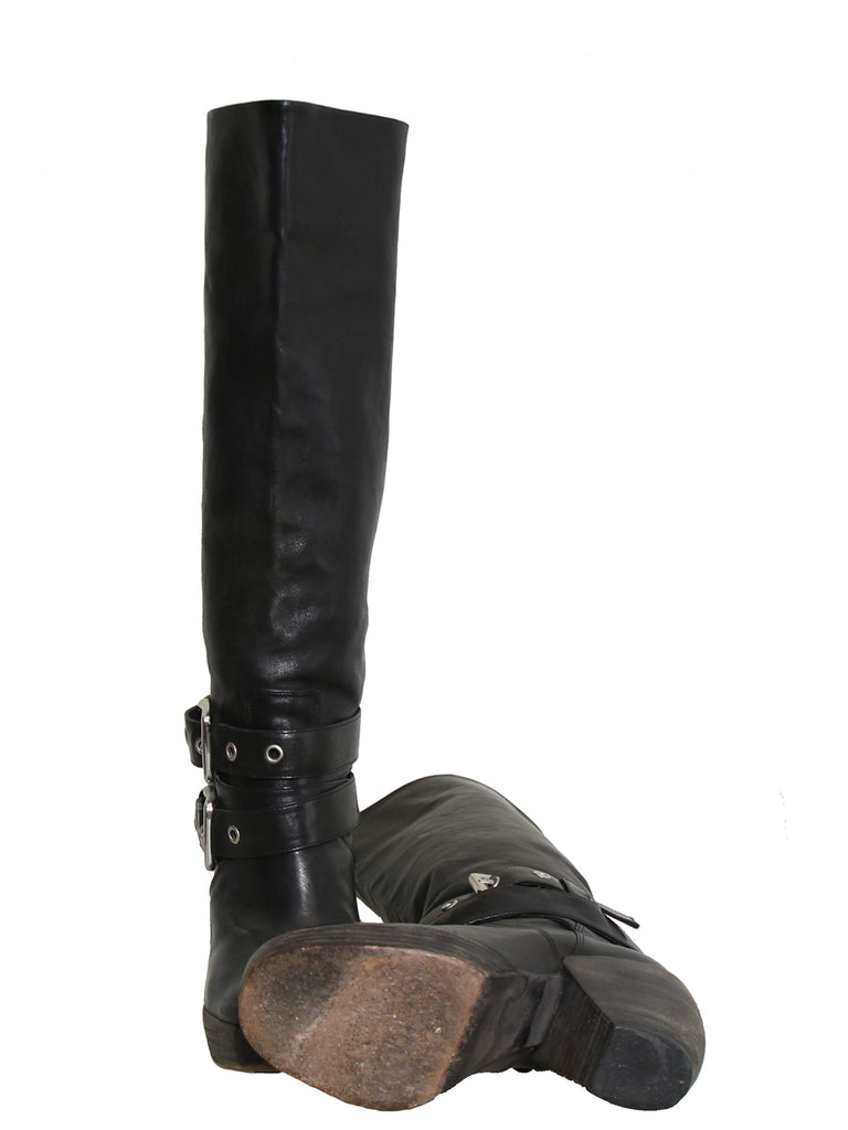 Phi Leather Boots