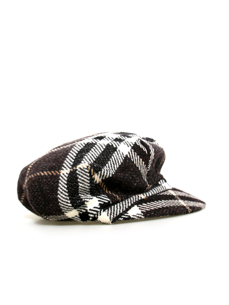 Burberry Check Wool Hat