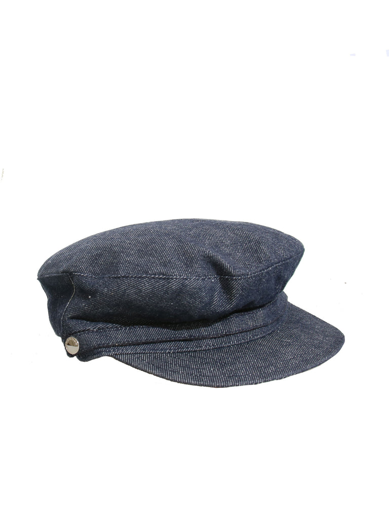 Burberry Denim Newsboy Hat