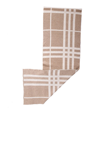 Burberry Check Shimmer Scarf