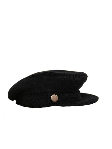 Burberry Corduroy Newsboy Hat