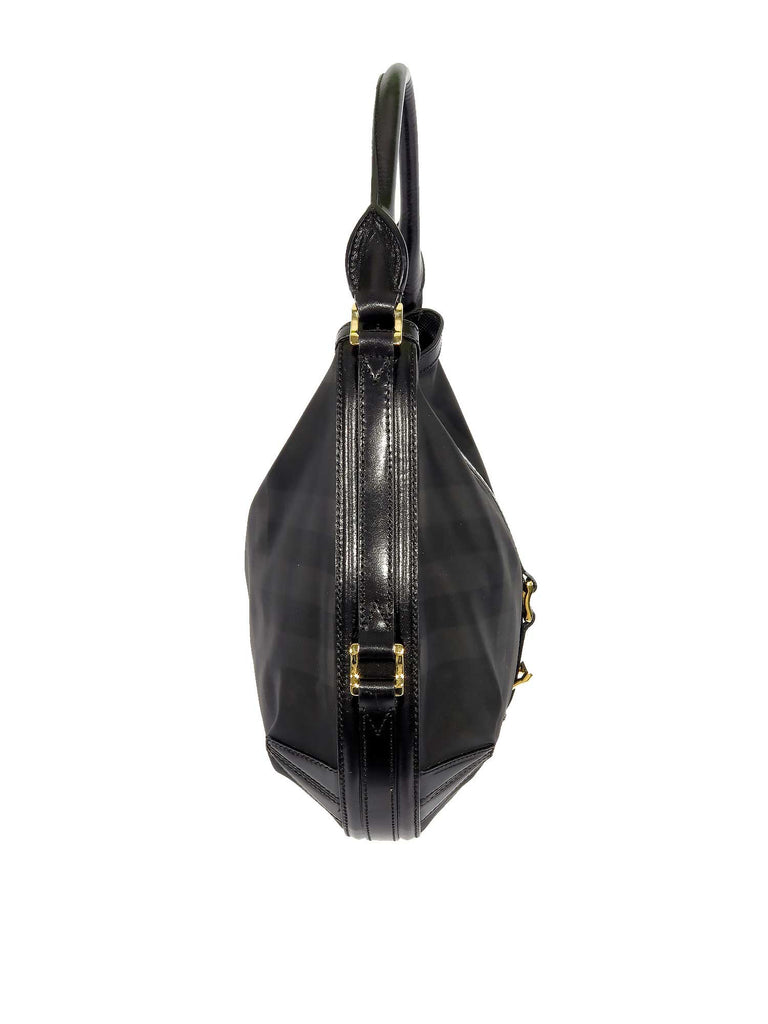 Burberry Grafton Medium Beat Hobo Bag