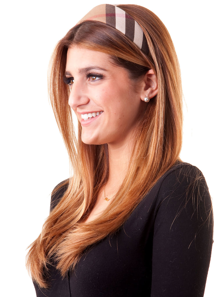 Burberry House Check Headband