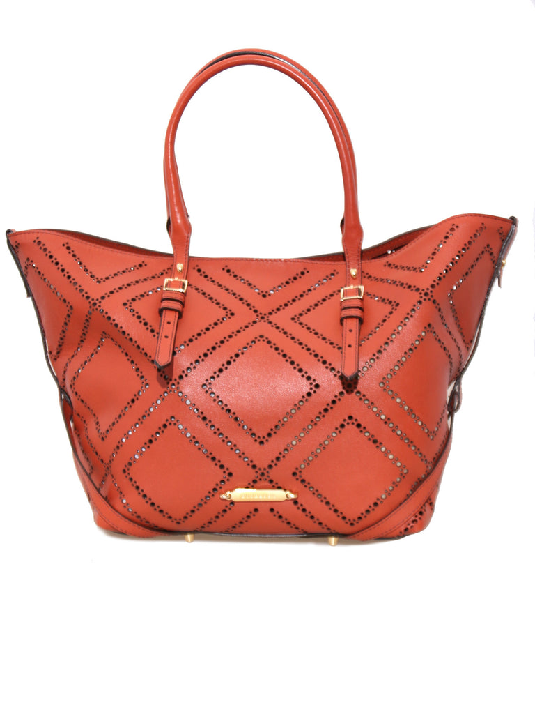 Burberry Perforated Salisbury Tote