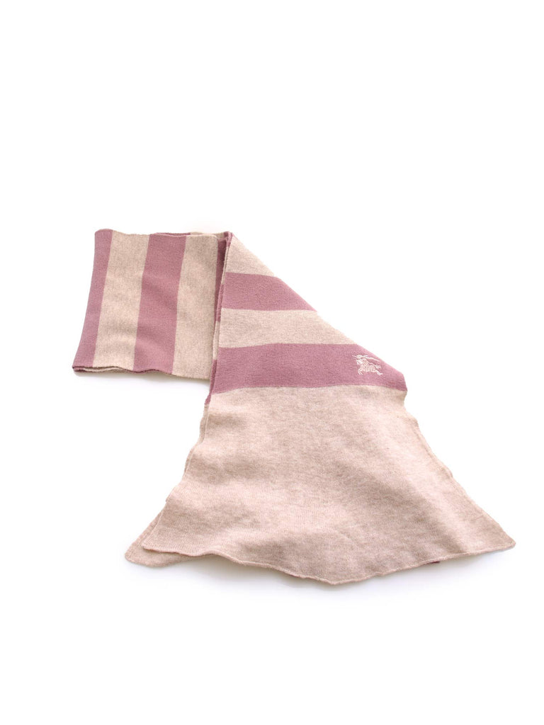 Burberry Striped Wool Scarf