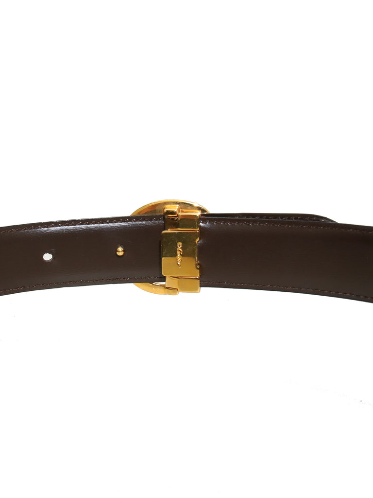 Cartier Reversible Leather Panthère Waist Belt