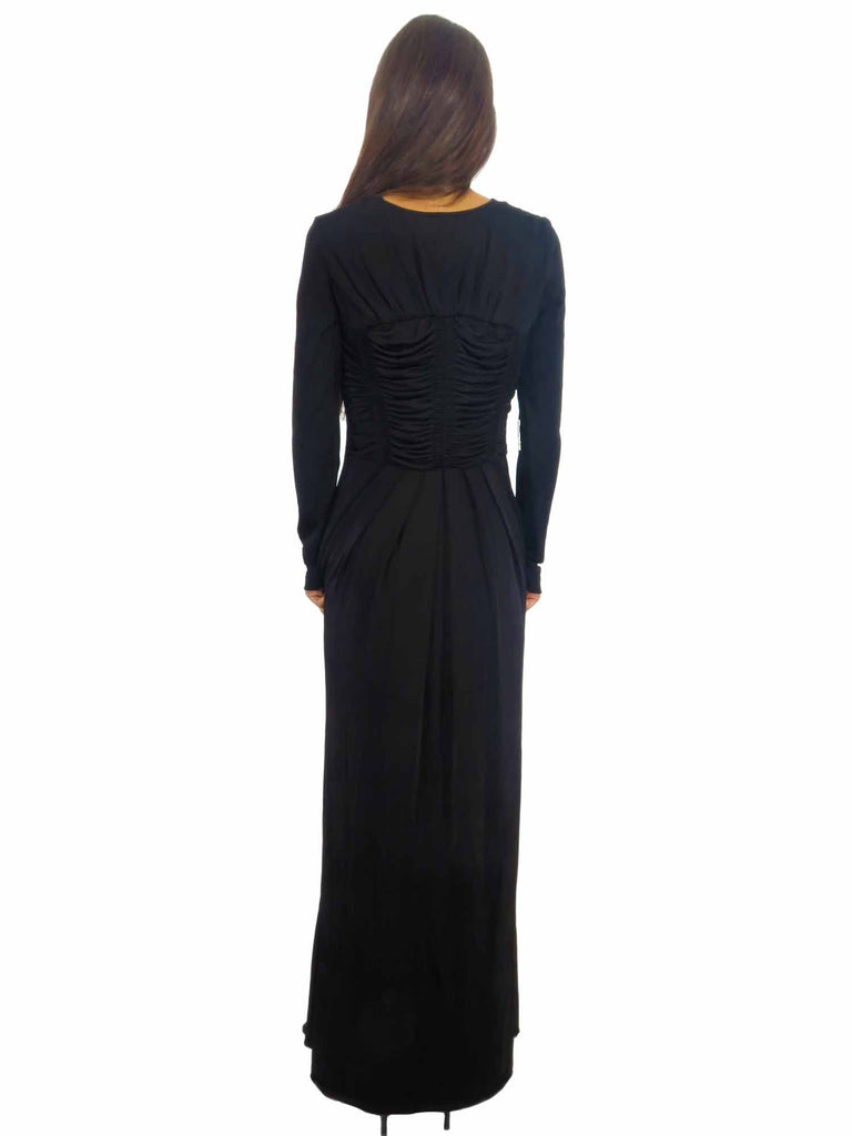 CLASS Roberto Cavalli Stretch-Jersey Gown