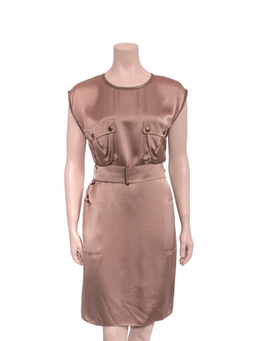 Lanvin Belted Dress