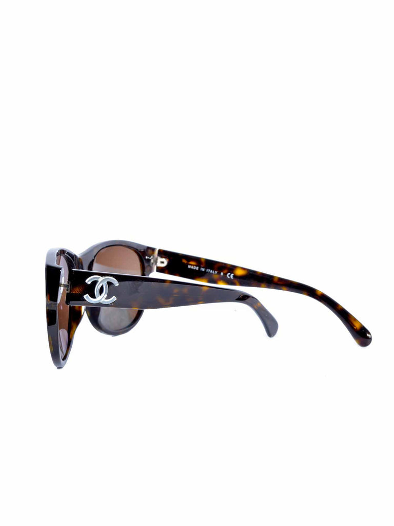 Chanel Havana Tortoise Sunglasses