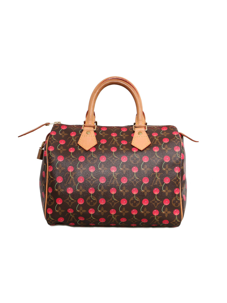 Louis Vuitton Monogram Cerises Speedy 25