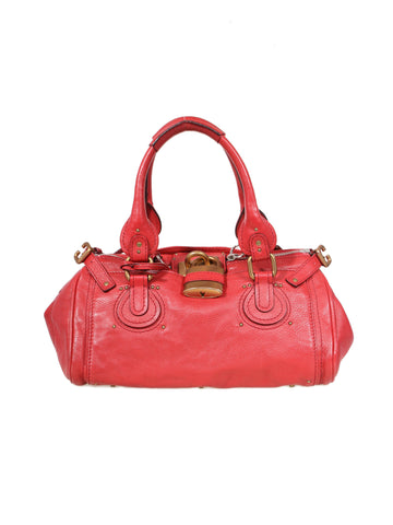 Chloe Leather Paddington Bag