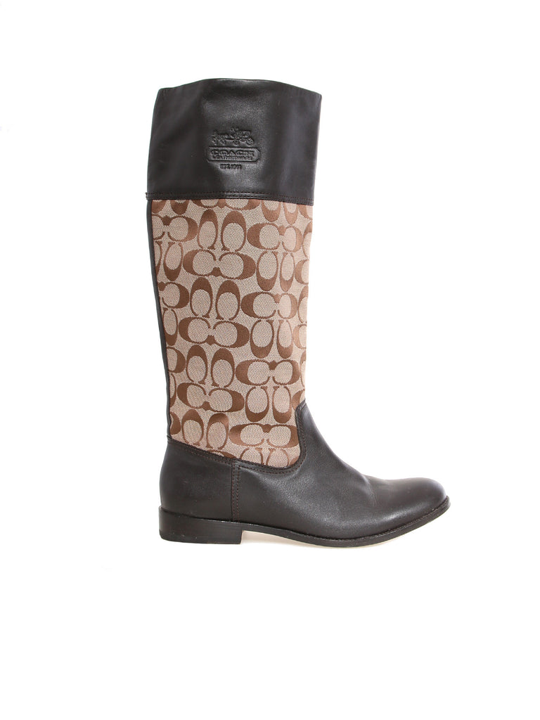 Coach Chrissi Monogram Boots