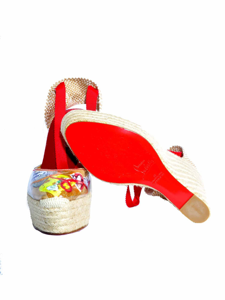 Christian Louboutin Collage Espadrilles