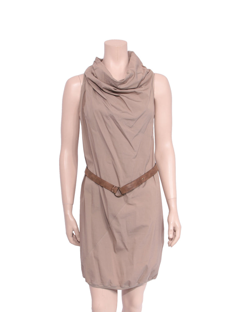 Brunelli Cucinelli Sleeveless Belted Dress