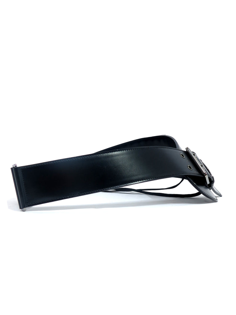 Christian Dior Laced-Up Leather Belt