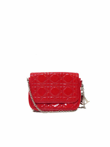 Christian Dior Cannage Cross Body Pochette