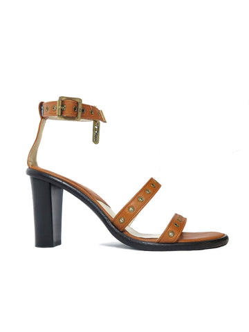 Christian Dior Grommet Leather Sandals