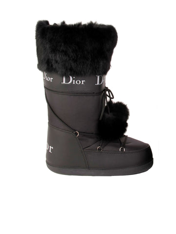 Christian Dior Moon Boots