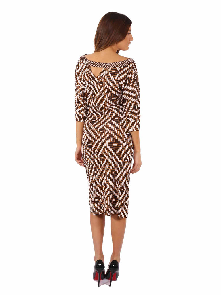 Diane von Furstenberg Ayoka Silk Dress