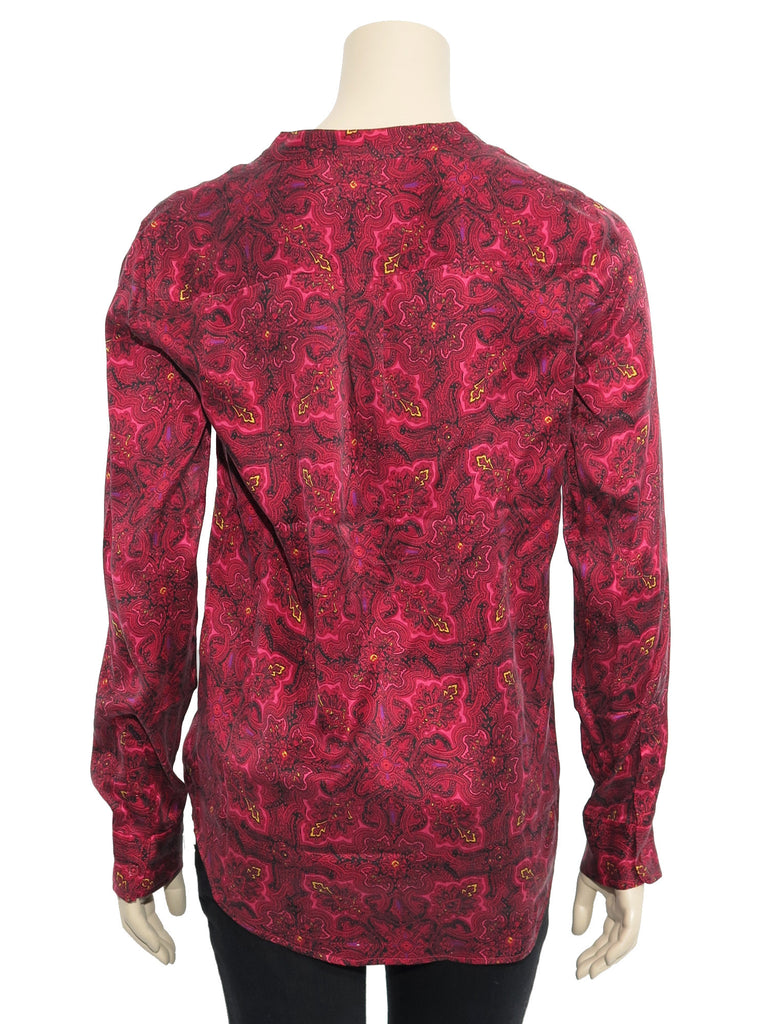 Equipment Silk Paisley Top