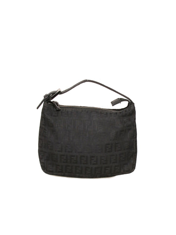 Fendi Zucchino Canvas Bag
