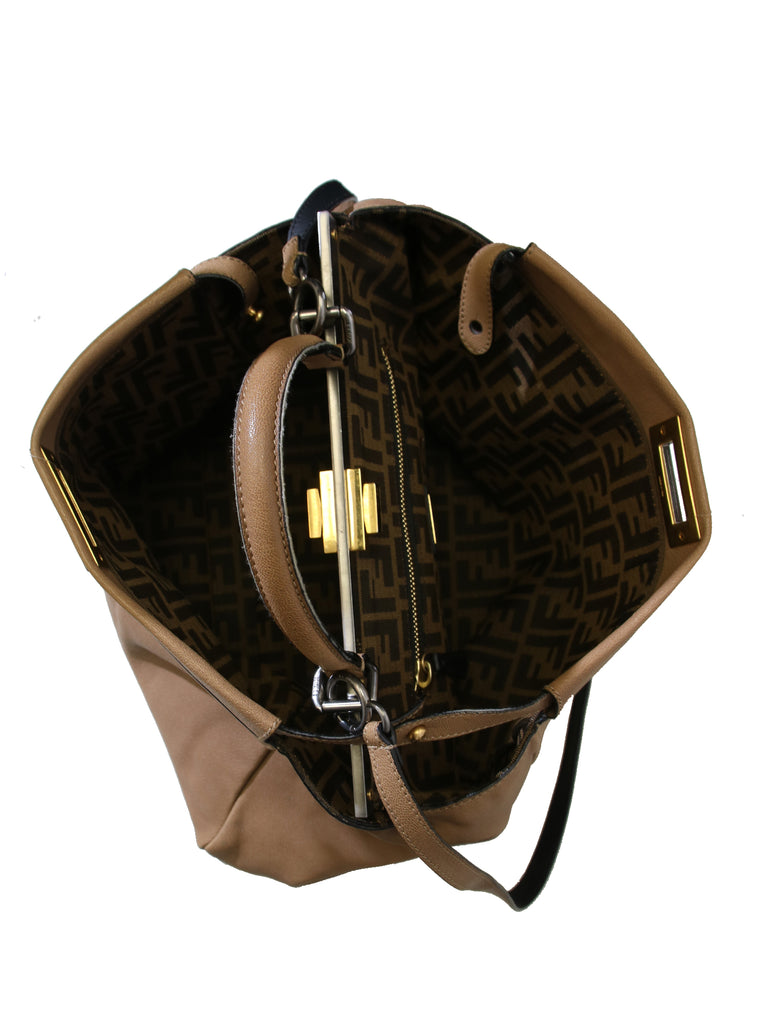 Fendi Peekaboo Bag with Monogram Interior