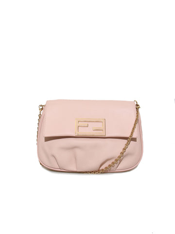 Fendi Fendista Pochette Leather Cross Body Bag