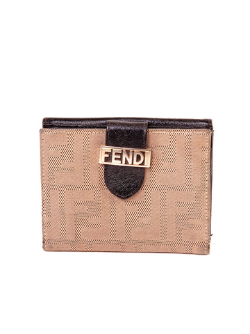 Fendi Snap Wallet