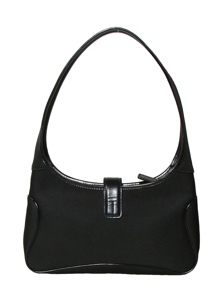 Salvatore Ferragamo Leather-Trimmed Shoulder Bag