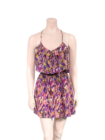 Parker Printed Silk Dress