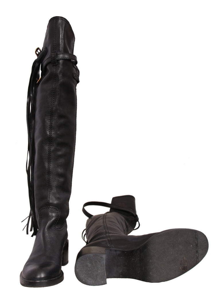 Gucci Devandra Over-The-Knee Boots