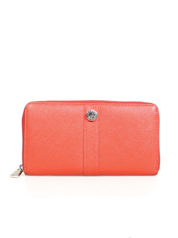 Furla Zip Around Leather Wallet