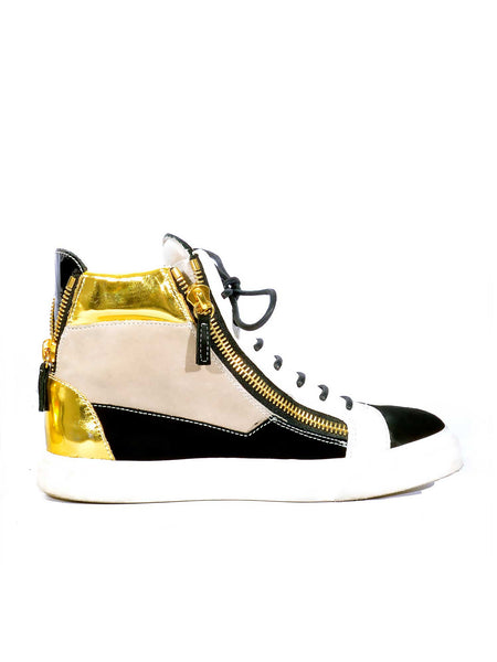 Giuseppe Zanotti High-Top Sneakers (now on sale!)