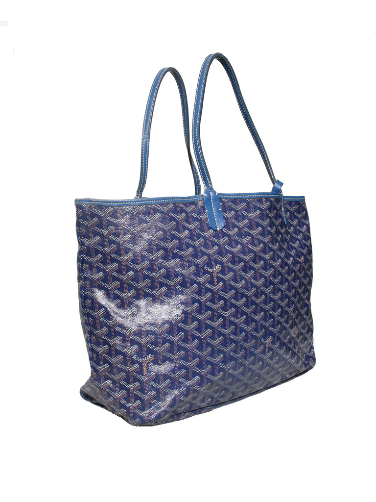 Goyard Goyardine St. Louis PM Tote with Pouch