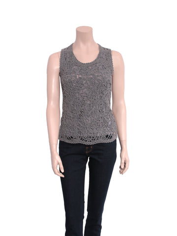 Escada Knit Sleeveless Top