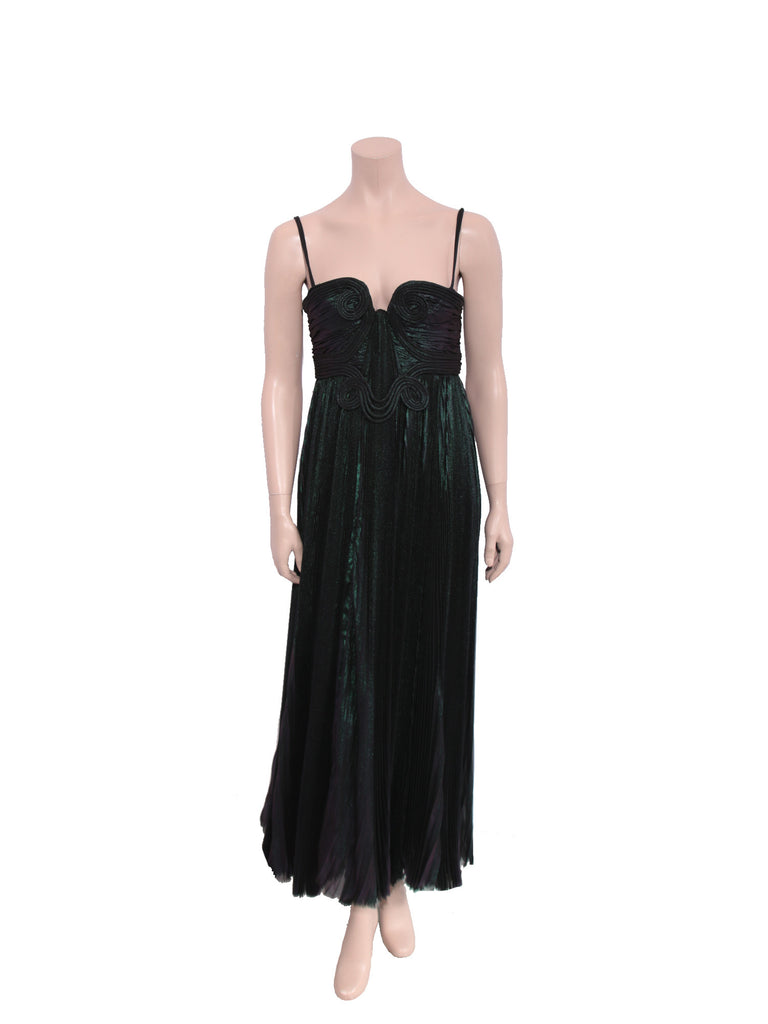 Emanuel Ungaro Pleated Gown