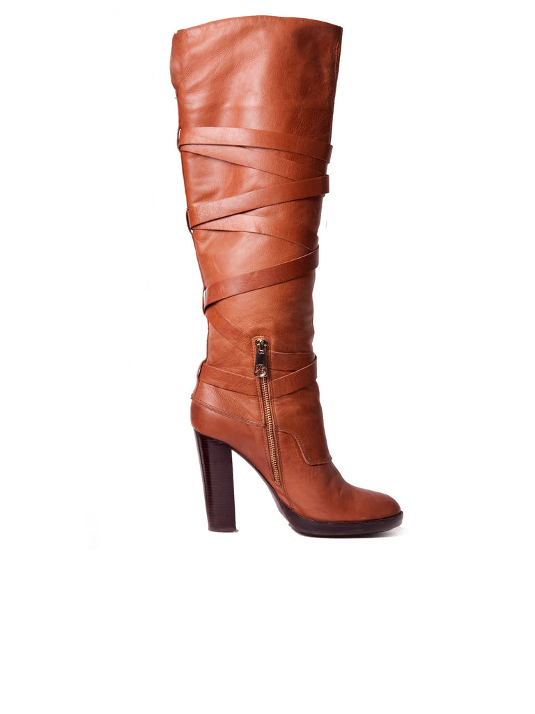 MICHAEL Michael Kors Greenwich Belted Boots