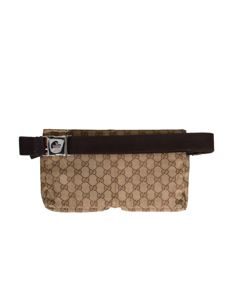8465e5582f92 Pre-owned Gucci GG Canvas Belt Bag – Sabrina's Closet