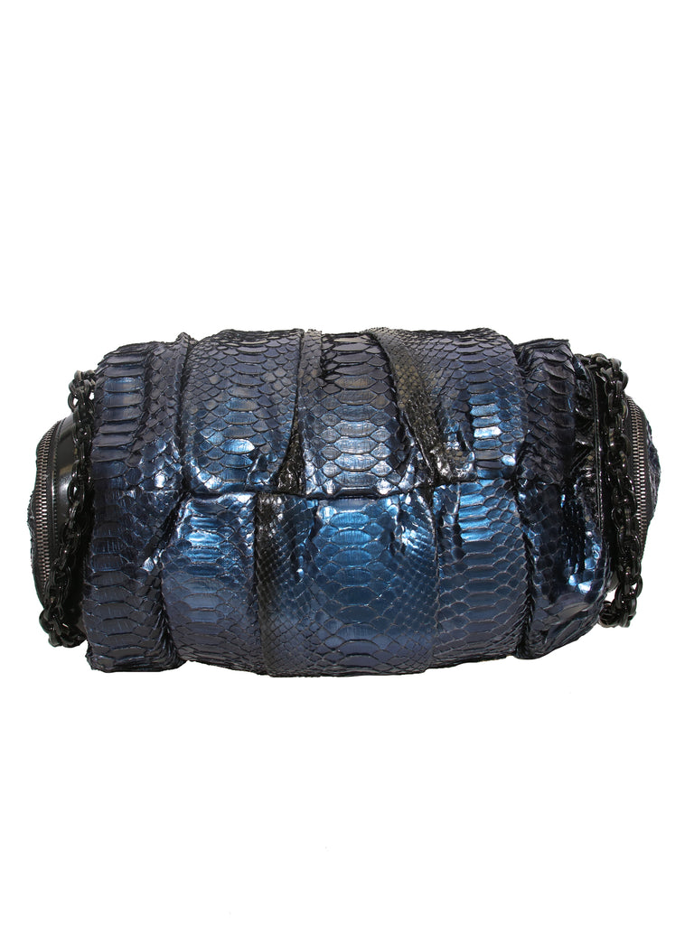 Gucci Python Galaxy Top Handle Bag