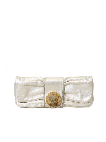 Gucci Leather Hysteria Clutch Bag